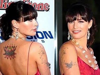 Les tatouages de stars: Rihanna et Lena Headey « World Wild Look